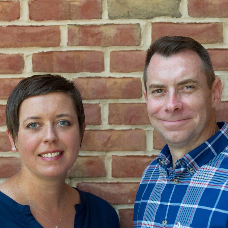 cpl headshot brick - Sarah Anderson & Neal Sheehan